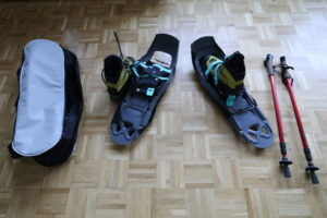Snowshoeing equipment