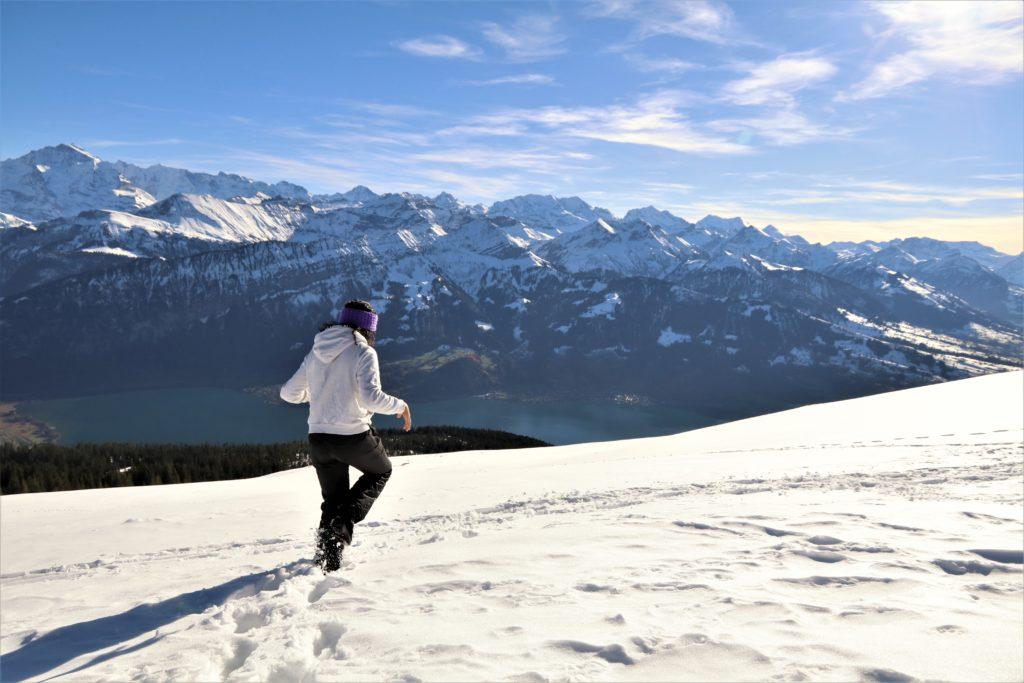 no inverno fazer trilhas