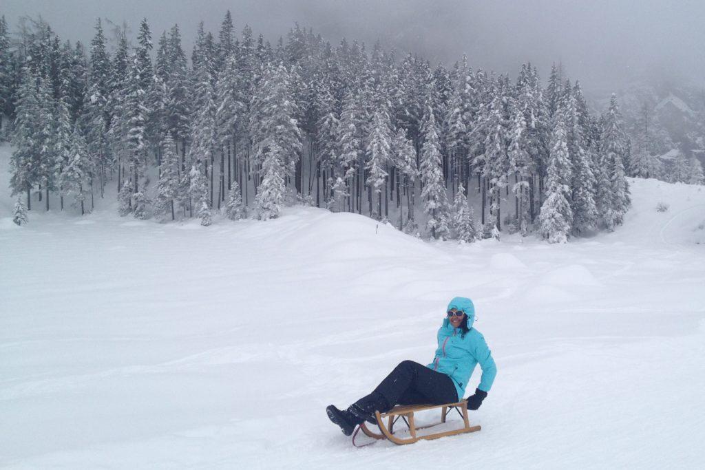 sledging Switzerland