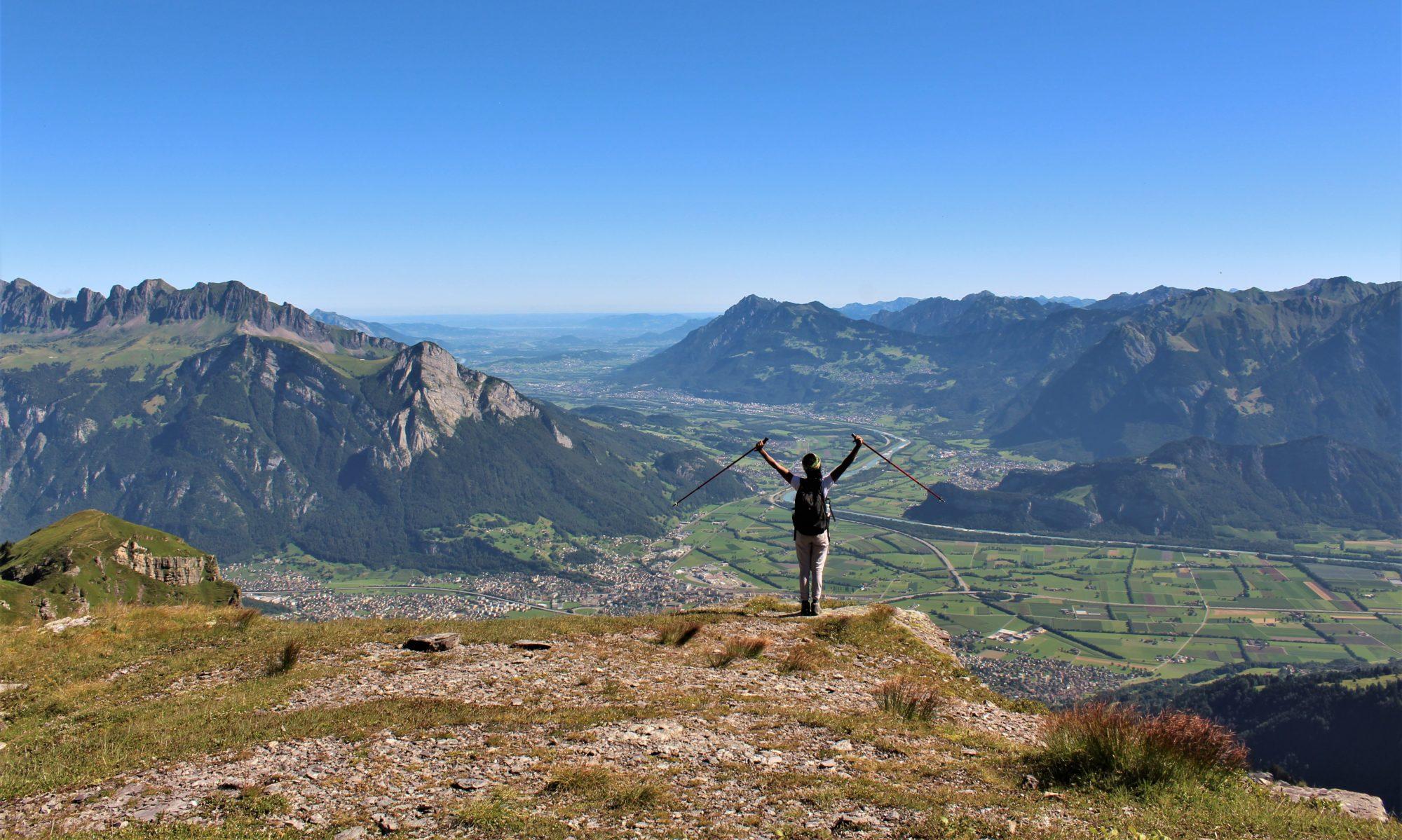 Esterzinha na Suíça Adventures