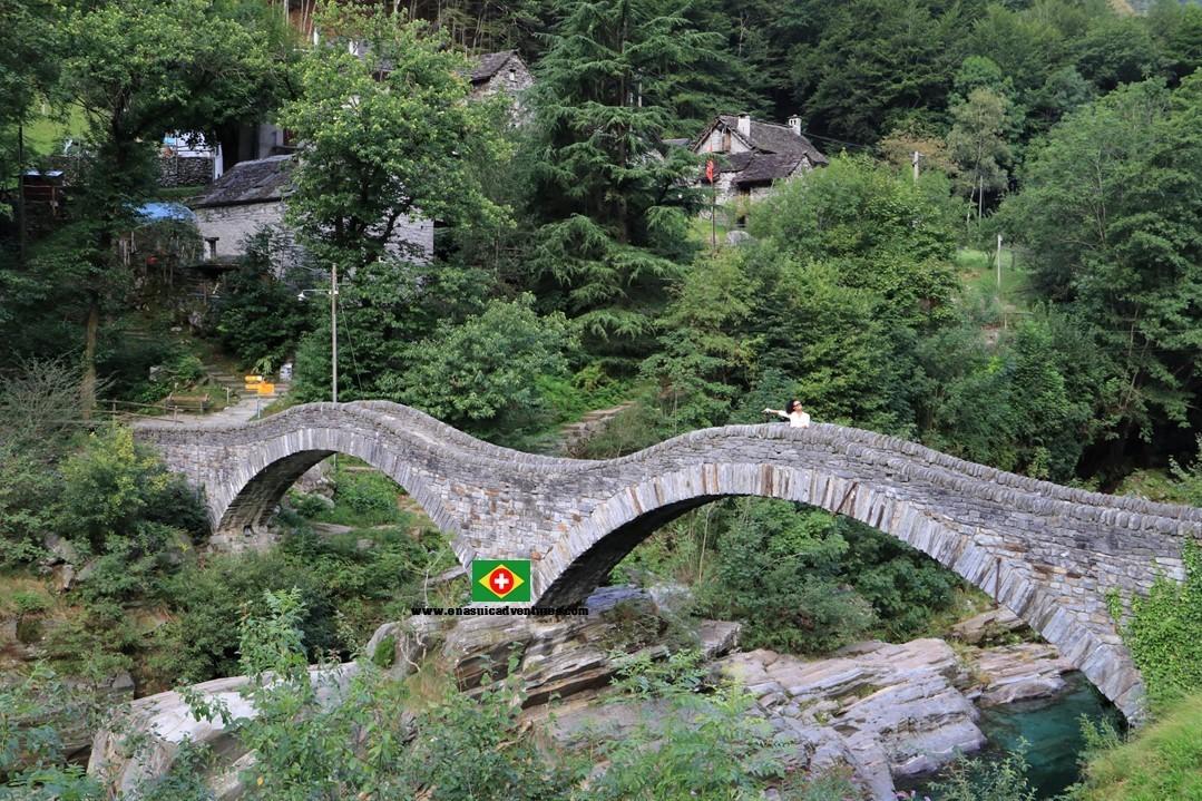 Valle Verzasca - Vale Verzasca - Ponte dei Salti - Ponte do Salto
