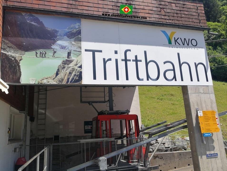 Ponte Triftbrücke - Ponte Trift - Triftbahn