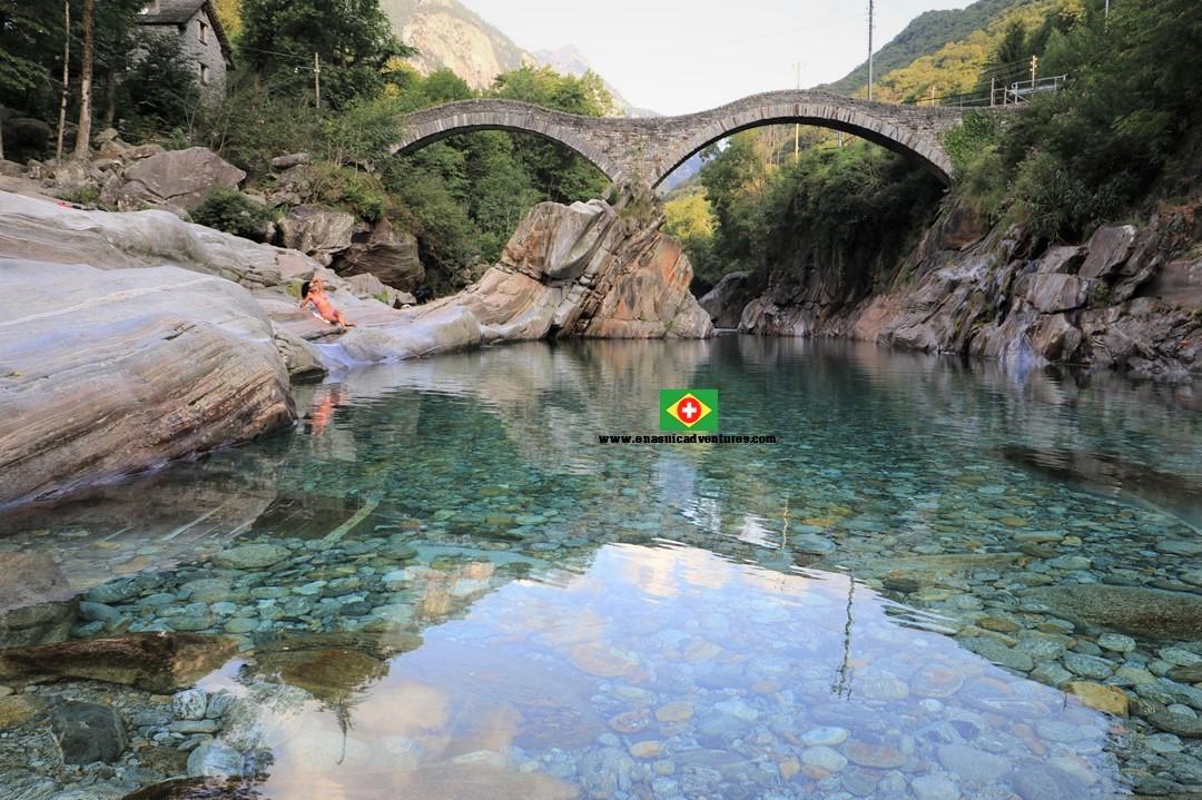 Valle Verzasca- Vale Verzasca - Ponte dei Salti - Ponte do Salto -Ticino