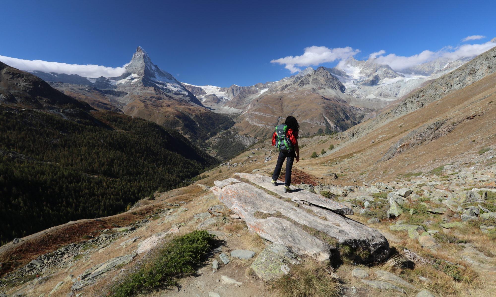 Guia Esterzinha na Suíça Adventures